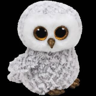 Beanie Boos OWLETTE - sova bílá 24 cm [HRAČKA]